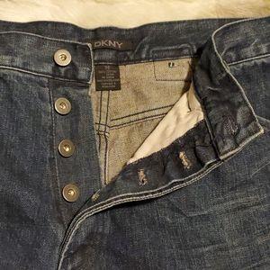 EUC button fly DKNY jeans